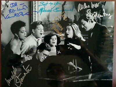 Multi Signed Photograph From the Movie Peters Friends.