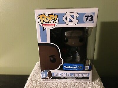 "Funko Pop! Basketball North Carolina ""Michael Jordan"" #73 Walmart Exclusive"