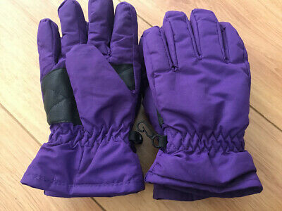 Mountain Warehouse 2 Pairs Girls Ski Gloves - For Age 7-10 Year Olds