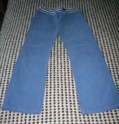 Mini Boden girls blue trousers, age 9