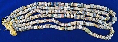 ***RARE HUGE Ancient 19 AD South American  Attractive Glass Bead Necklaces