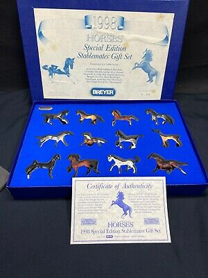 1998 Breyer Just About Horses Special Edition Stablemate Gift Set #1288/5000