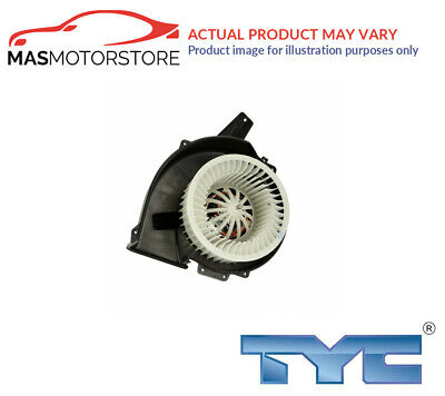 Interior Blower Fan Motor Lhd Only Tyc 503-0006 G New Oe Replacement