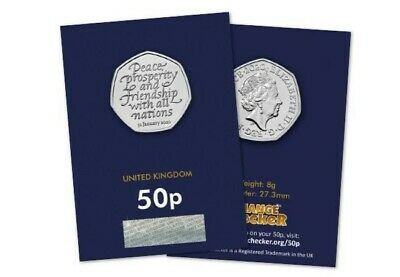 2020 Uk Brexit 50P Fifty Pence Uncirculated Coin - Official Uk Issue *Freepost*