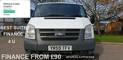 2011 Ford Transit 2.2 280 SWB Low Roof Panel Van, EX COUNCIL (T 300 260 S MK7