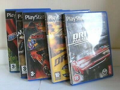 PS2 games x5 job lot