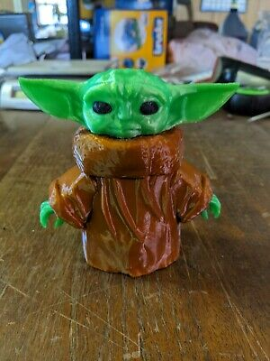 Star Wars The Mandalorian Child Baby Yoda 3D Printed Figure 5""