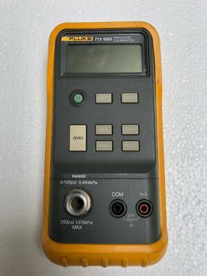 Fluke 713 100G Digital Hand Held Pressure Calibrator 0 To 100 Psi (For Parts)