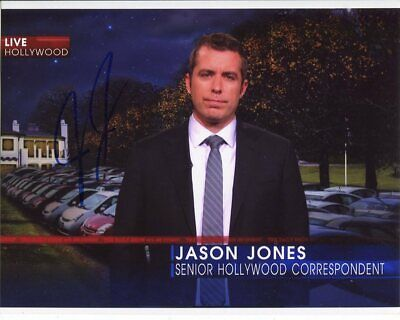 Jason Jones Photo Signed In Person - TV Presenter - F878