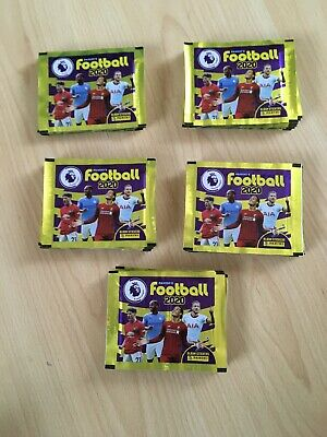Panini Football 2020 Premier League 50 Packets New 2020 Panini 50 Sealed Packets