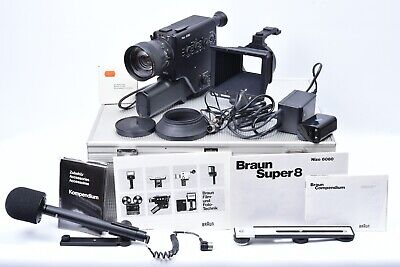 Camera Cinema Nizo 6080 for Braun. with Suitcase and Accessories