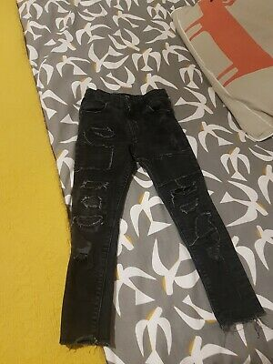 Boys River Island Trendy Skinny Ripped Jeans Age 5 Yrs