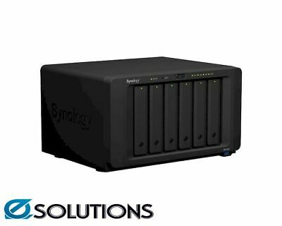 Synology DiskStation DS1618+ 6 Bay Diskless NAS Quad Core CPU 4GB RAM
