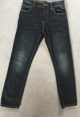 Very Nice Boys Next Dark Blue Denim Jeans, Age 11  (~146cm in Height)