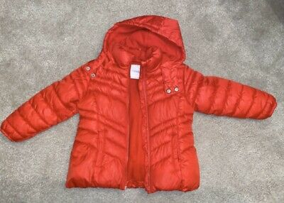 Next Girls Red Jacket Age 4 Years