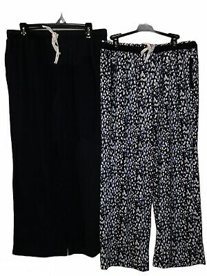 DKNY Women's Lounge Pants 2 Pack NWT Soft Comfy Cozy DK3