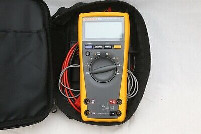 Fluke 179 True RMS TRMS Digital Multimeter w/ Leads & Probes In Case