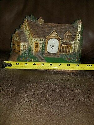 Antique 1920's Homestead Mantle Clock by Lux Clock Company (s)