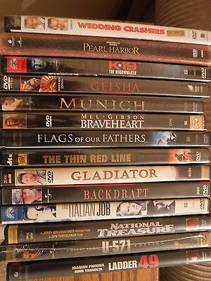 Lot of 14 DVD's, some new, some used-  See listing - Good Quality viewing