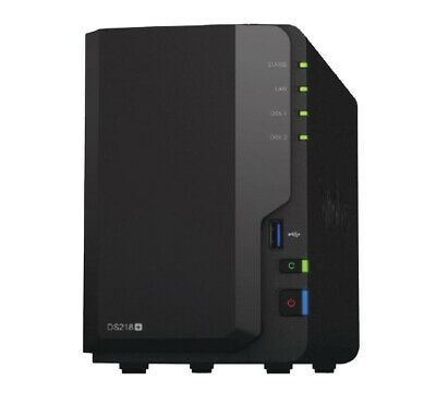 NEW DS218+ 29DS218+ SYNOLOGY DISKSTATION DS218+ 2-BAY 3.5 INCH DISKLESS 1XGB.d.