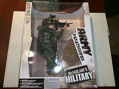 "12"" Mcfarlanes Military Army Paratrooper"