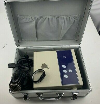 Professional Ionic Detox Foot Cleanse Machine & Spa Chi Bath w/ Case (used Test)