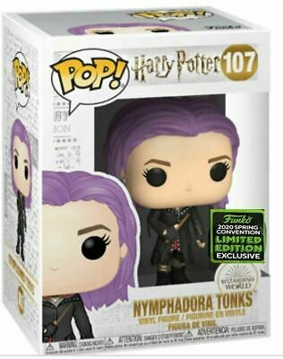 Funko Pop Harry Potter #107 Nymphadora Tonks ECCC Shared Exclusive PreOrder