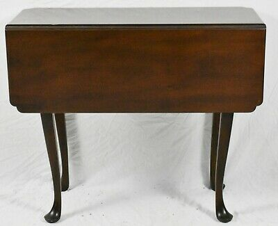 KITTINGER Colonial Williamsburg Mahogany Drop Leaf Table WA-1020