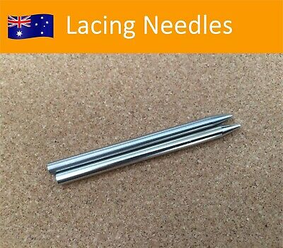 CLEARANCE! 2pcs Stainless Lacing Needle Length 3 inch 7.5cm Paracode Weaving Fid