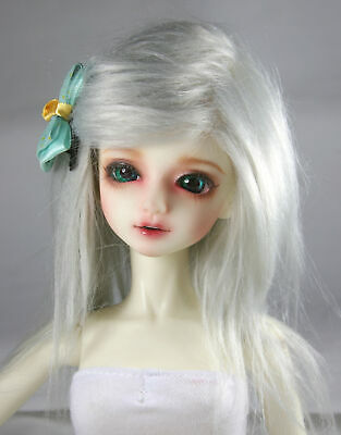 BJD Doll 1//4 7-8 Wig Short Afro Hair Fabric Fur Wig for Boy Girl Black