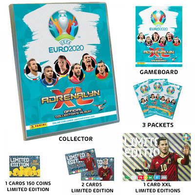 Panini Uefa Euro 2020 Starter Pack  Adrenalyn Xl Official Trading Cards New!!!
