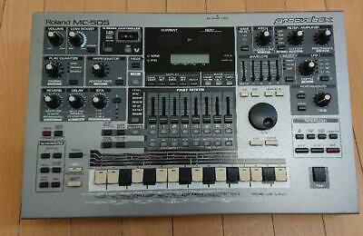 Roland MC-505 Sequencer Synth Groovebox Workstation w/ AC adapter(SS-96