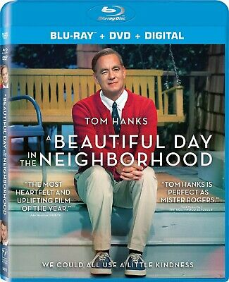 A Beautiful Day In The Neighborhood Blu-Ray + Dvd + Slipcover No Digital Hanks