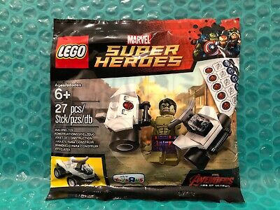 Lego Marvel Super Heroes Hulk Polybag. Toys R Us Exclusive. New. Avengers