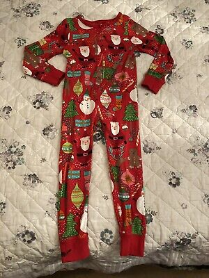 Next Girls Christmas All In One Pyjamas Age 5