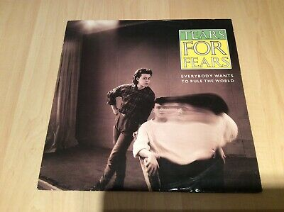 Tears for fears- Everybody wants to rule the world- 10 inch vinyl single 1985