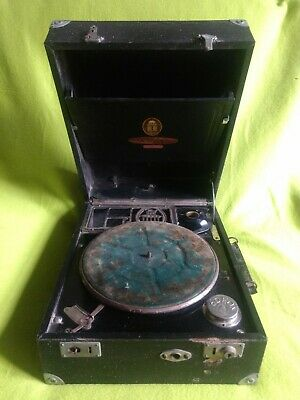 Vintage Odeon Orator Gramaphone German made Bertona SPARES OR REPAIR gramofono