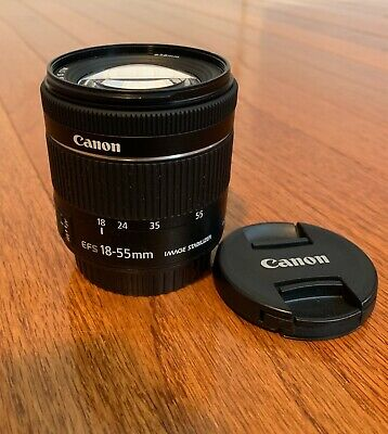 Barely Used - Canon EF-S 18-55mm F/4-5.6 IS STM  Kit Lens (Newest Version)