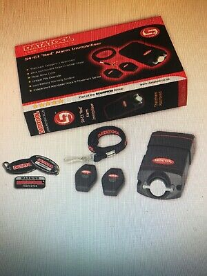 DATATOOL S4 RED Motorcycle/Scooter CAT 1 Movement Tilt Shock Alarm & Immobiliser