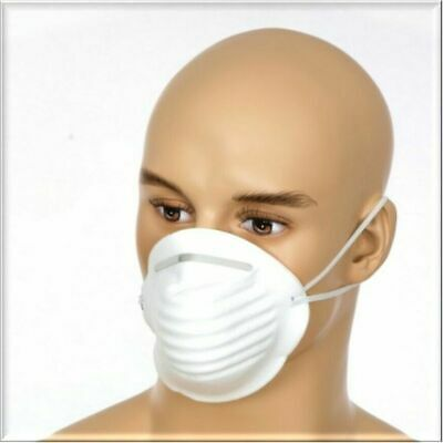 50x Silverline Face Masks(Metal) .Suitable for a variety of uses