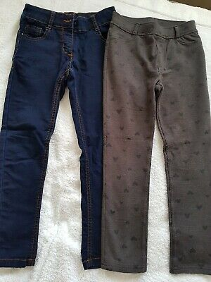 Girls Jeans & Trousers Age 7-8 M&S and H&M Very good condition. Hardly worn.