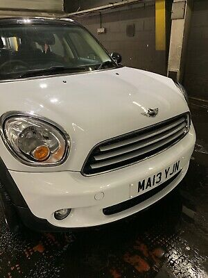 Mini Countryman'13 White