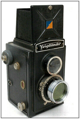 ++ Clean Working Voigtlander Brilliant Twin Lens T.L.R. German Camera  ++