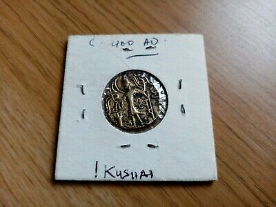Kushan COIN 400AD very fine, gold