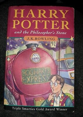 Rare Harry Potter and the philosopher's stone 1st edition errors Joanne Rowling