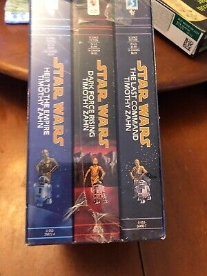 Star Wars THE THRAWN TRILOGY, 3 Book Set Lot Brand New