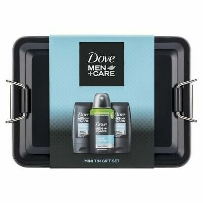 Dove Men+Care Body & Face Wash With Antiperspirant Deodorant Gift Set