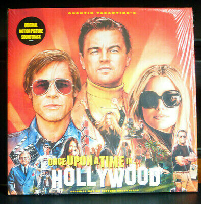 Quentin Tarantino Once Upon a Time in Hollywood Soundtrack Black Vinyl LP