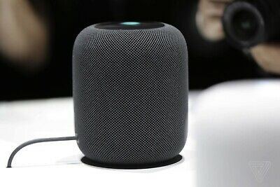 Apple HomePod Voice Enabled Smart Assistant - Space Grey