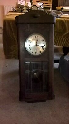 Vintage Antique 8 Day Westminster Chime Quality Wall Clock